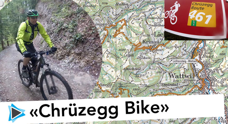 Mountainbike Tour Wattwil - Chrüzegg - Pfingsten 2016