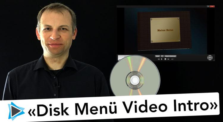Disk Menü Intro Video erstellen Pinnacle Studio Deutsch Video Tutorial