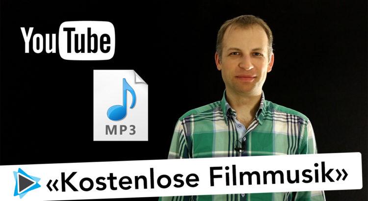 Kostenlose Filmmusik für deine Videoprojekte auf Youtube