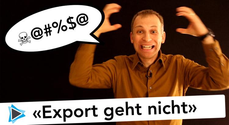 Projekt Export und Render Probleme in Pinnacle Studio 19 Deutsch Video Tutorial