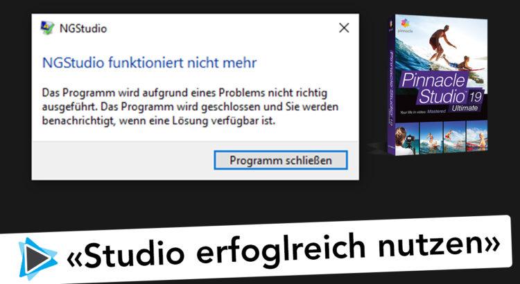 Pinnacle Studio Deutsch erfolgreich nutzen NGStudio Video Tutorial