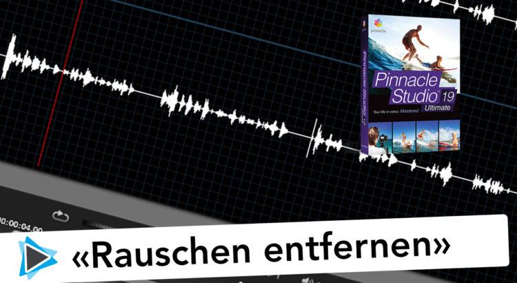 Geräusche entfernen mit Audacity und Pinnacle Studio Deutsch Video Tutorial