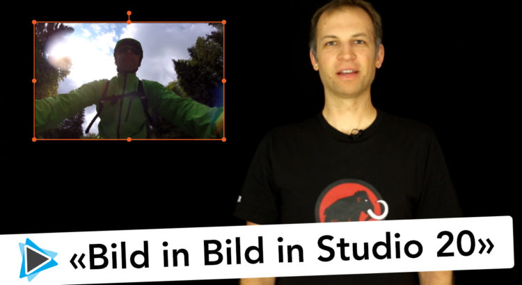 Neu in Pinnacle Studio 20 Deutsch Bild in Bild und Zuschneiden Video Tutorial